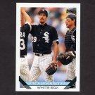1993 Topps Baseball #344 Jack McDowell - Chicago White Sox