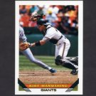 1993 Topps Baseball #337 Kirt Manwaring - San Francisco Giants