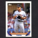1993 Topps Baseball #325 Bill Gullickson - Detroit Tigers