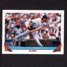 1993 Topps Baseball #319 Paul Assenmacher - Chicago Cubs