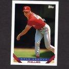 1993 Topps Baseball #317 Kyle Abbott - Philadelphia Phillies