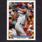 1993 Topps Baseball #316 Dave Nilsson - Milwaukee Brewers