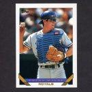1993 Topps Baseball #294 Brent Mayne - Kansas City Royals