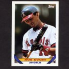 1993 Topps Baseball #293 Rob Ducey - California Angels