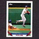 1993 Topps Baseball #262 Mickey Morandini - Philadelphia Phillies