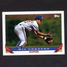 1993 Topps Baseball #256 Wil Cordero - Montreal Expos