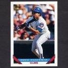 1993 Topps Baseball #211 Doug Dascenzo - Chicago Cubs