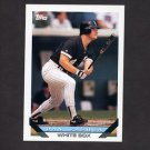 1993 Topps Baseball #204 Dan Pasqua - Chicago White Sox