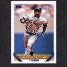 1993 Topps Baseball #189 Tony Phillips - Detroit Tigers