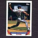 1993 Topps Baseball #178 Jeff Fassero - Montreal Expos
