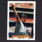 1993 Topps Baseball #176 Darren Lewis - San Francisco Giants