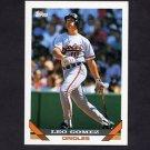 1993 Topps Baseball #164 Leo Gomez - Baltimore Orioles