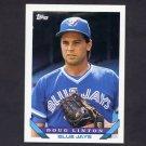 1993 Topps Baseball #159 Doug Linton - Toronto Blue Jays