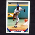 1993 Topps Baseball #145 Eric Young - Los Angeles Dodgers