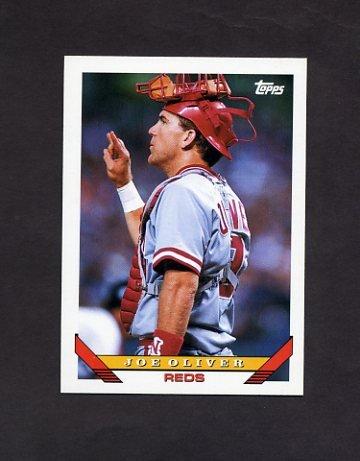 1993 Topps Baseball #138 Joe Oliver - Cincinnati Reds