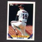 1993 Topps Baseball #129 Joe Grahe - California Angels