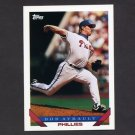 1993 Topps Baseball #126 Bob Ayrault - Philadelphia Phillies