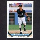 1993 Topps Baseball #122 Joey Cora - Chicago White Sox