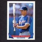1993 Topps Baseball #118 David Hulse RC - Texas Rangers