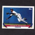 1993 Topps Baseball #113 Thomas Howard - Cleveland Indians