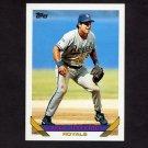 1993 Topps Baseball #105 Gregg Jefferies - Kansas City Royals