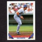 1993 Topps Baseball #087 Kevin Reimer - Texas Rangers