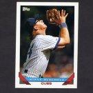 1993 Topps Baseball #074 Steve Buechele - Chicago Cubs