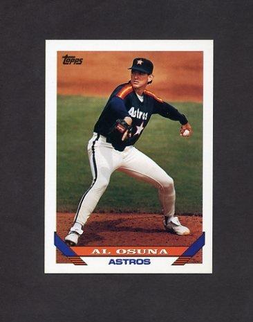 1993 Topps Baseball #063 Al Osuna - Houston Astros