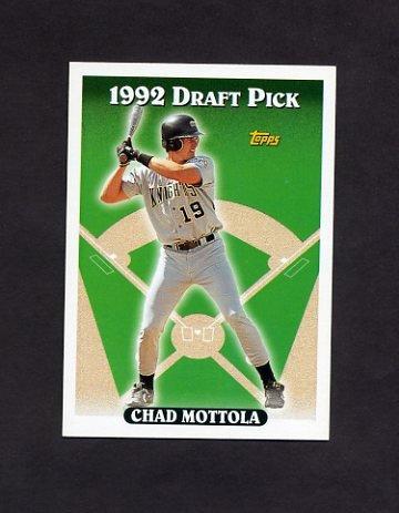 1993 Topps Baseball #056 Chad Mottola RC - Cincinnati Reds