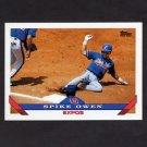 1993 Topps Baseball #042 Spike Owen - Montreal Expos