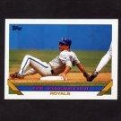 1993 Topps Baseball #022 Jim Eisenreich - Kansas City Royals