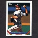 1993 Topps Baseball #008 Mark Wohlers - Atlanta Braves