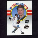 1990 Fleer Baseball All-Stars #03 Mark Davis - San Diego Padres