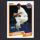 1990 Fleer Baseball #614 Jeff M. Robinson - Detroit Tigers