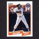 1990 Fleer Baseball #608 Chet Lemon - Detroit Tigers