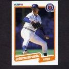 1990 Fleer Baseball #605 Guillermo Hernandez - Detroit Tigers