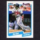 1990 Fleer Baseball #582 Ron Gant - Atlanta Braves