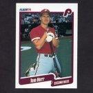 1990 Fleer Baseball #560 Tommy Herr - Philadelphia Phillies
