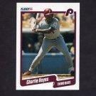 1990 Fleer Baseball #558 Charlie Hayes - Philadelphia Phillies