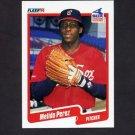 1990 Fleer Baseball #546 Melido Perez - Chicago White Sox