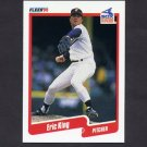 1990 Fleer Baseball #537 Eric King - Chicago White Sox