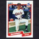 1990 Fleer Baseball #532 Dave Gallagher - Chicago White Sox