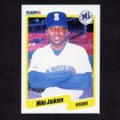 1990 Fleer Baseball #517 Mike Jackson - Seattle Mariners