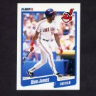 1990 Fleer Baseball #494 Dion James - Cleveland Indians