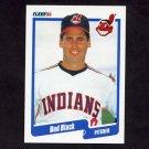 1990 Fleer Baseball #486 Bud Black - Cleveland Indians