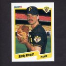 1990 Fleer Baseball #471 Randy Kramer - Pittsburgh Pirates