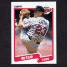 1990 Fleer Baseball #386 Roy Smith - Minnesota Twins