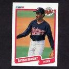 1990 Fleer Baseball #376 German Gonzalez - Minnesota Twins