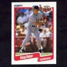 1990 Fleer Baseball #368 Doug Baker - Minnesota Twins