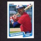 1990 Fleer Baseball #360 Nelson Santovenia - Montreal Expos